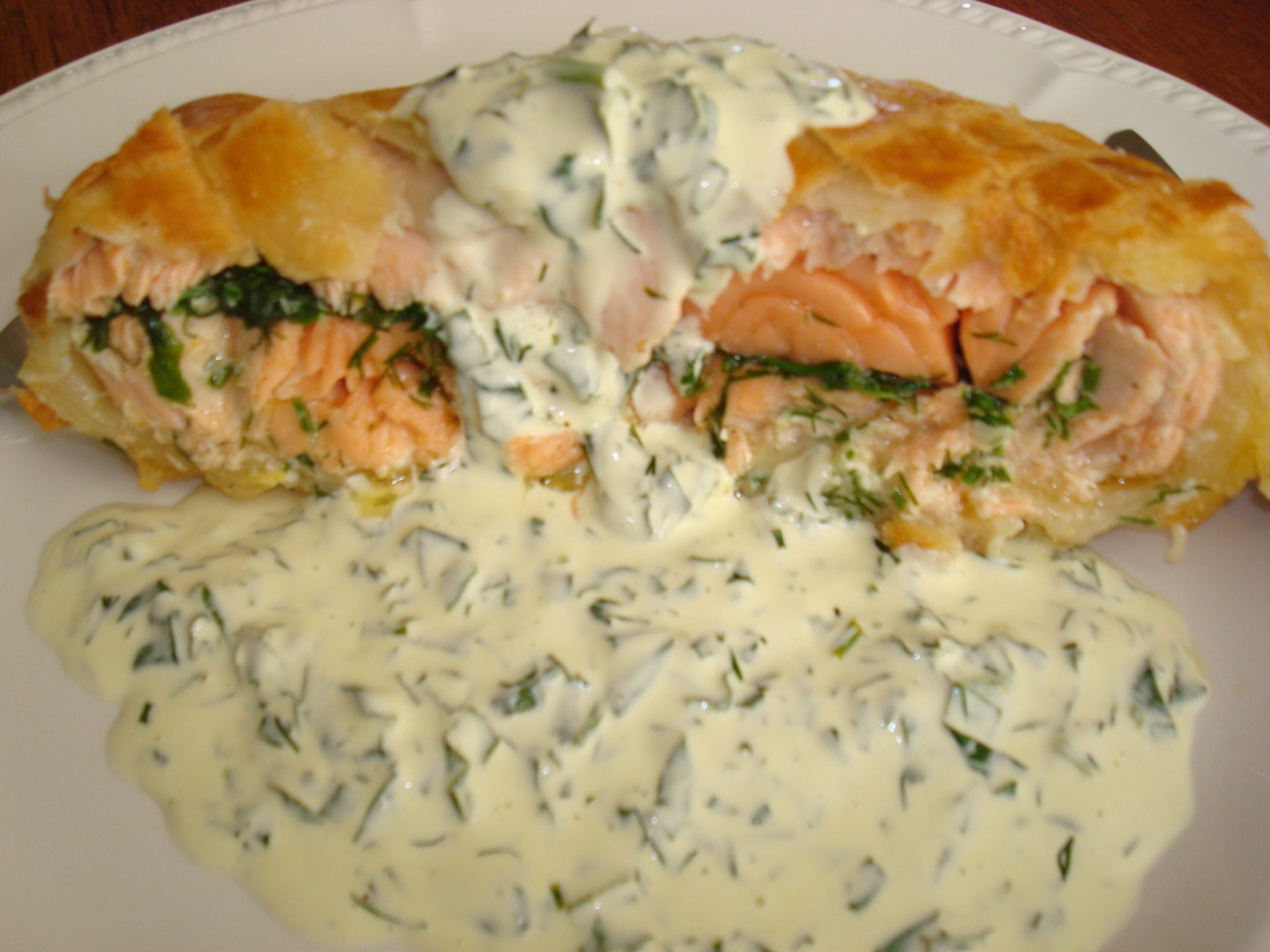 Salmon En Croute – Dressed To Impress