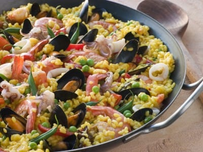 Perfect paella in only 20 minutes!