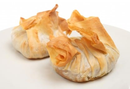 Appetizer Recipe Goats Cheese Amp Pear In Filo Pastry How