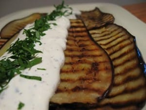 yogurt-basil-dressing-on-aubergine