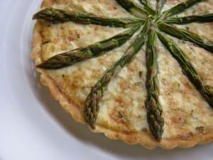 asparagus-crab-tart